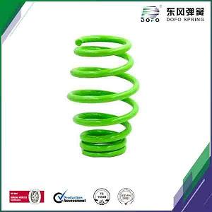 green paiting suspension spring